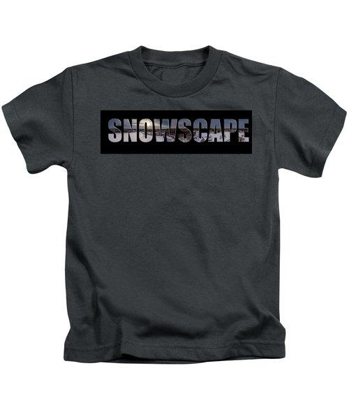 Snowscape Kids T-Shirt
