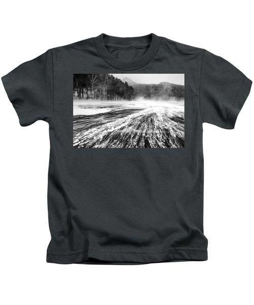 Snowstorm Kids T-Shirt