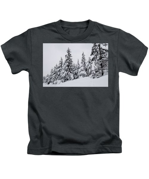 Snowy-1 Kids T-Shirt