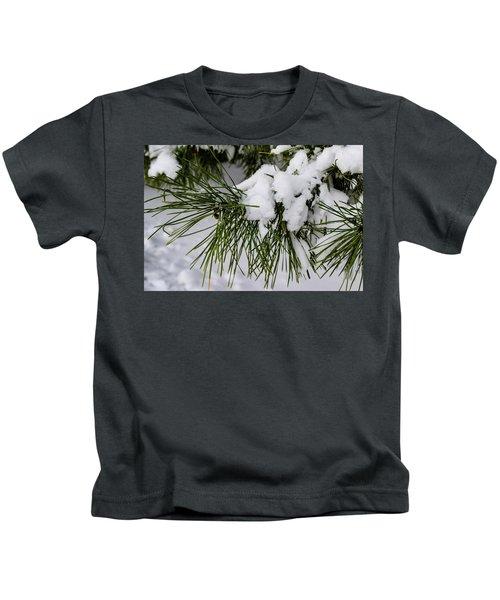 Snowy Branch Kids T-Shirt