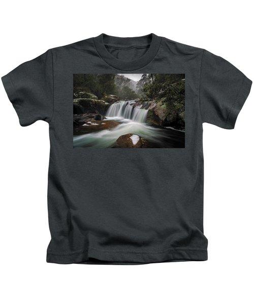 Snowy Mist Kids T-Shirt