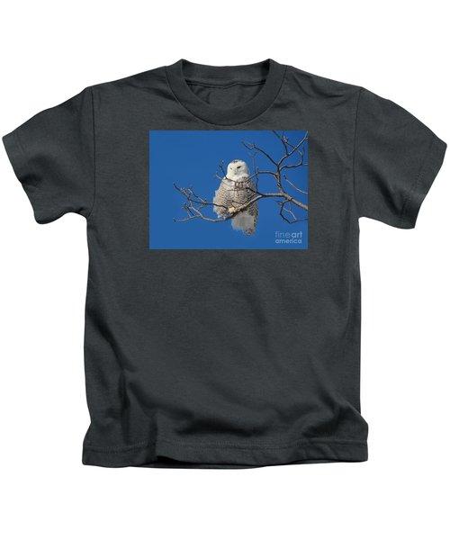 Snowy Owl 7 Kids T-Shirt