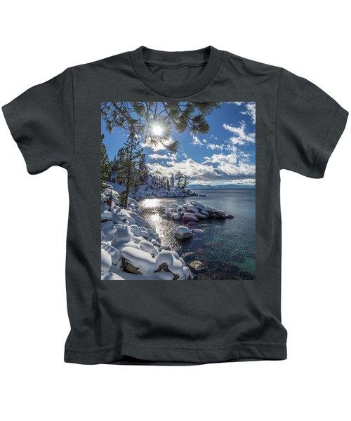 Snowy Tahoe Kids T-Shirt