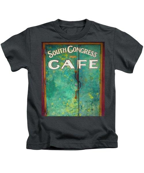 Soco Cafe Doors Kids T-Shirt