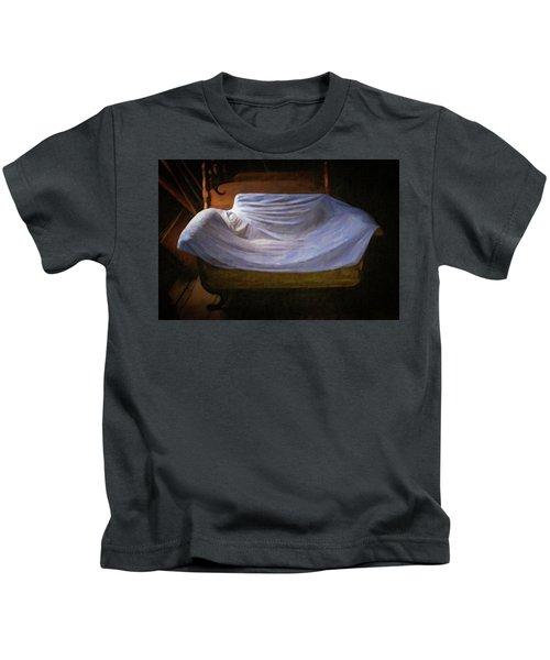 Sofa In Barn Kids T-Shirt