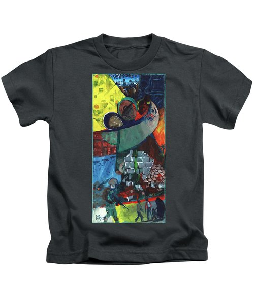 Soldier Family Sacrifice Kids T-Shirt
