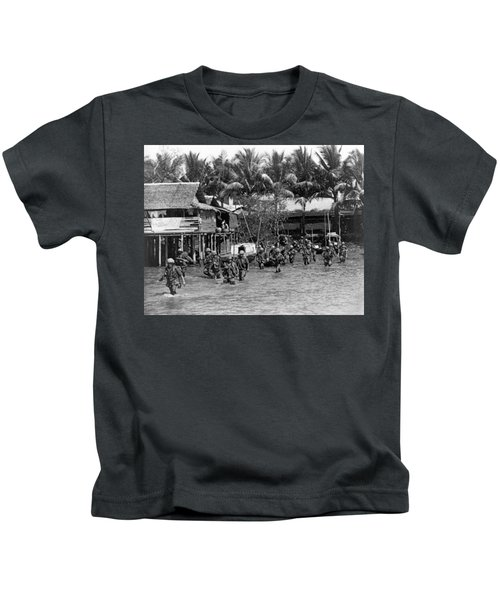 Soldiers In The Mekong Delta Kids T-Shirt