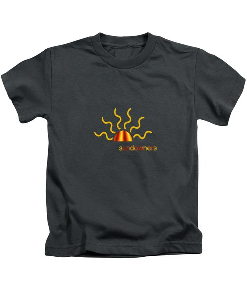Solitary Seagull Kids T-Shirt by Valerie Anne Kelly