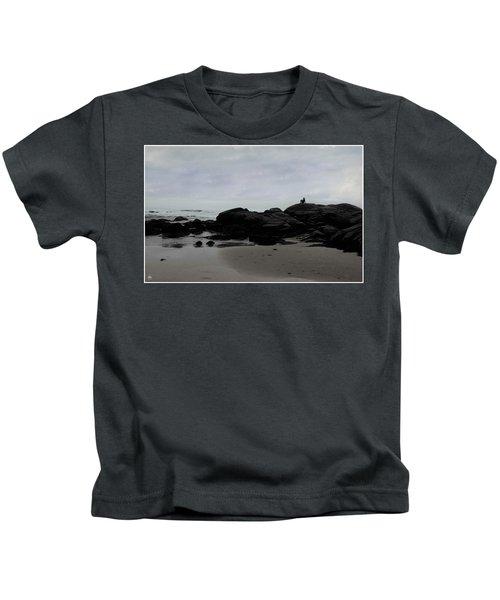 Solitude At Goose Rocks Kids T-Shirt