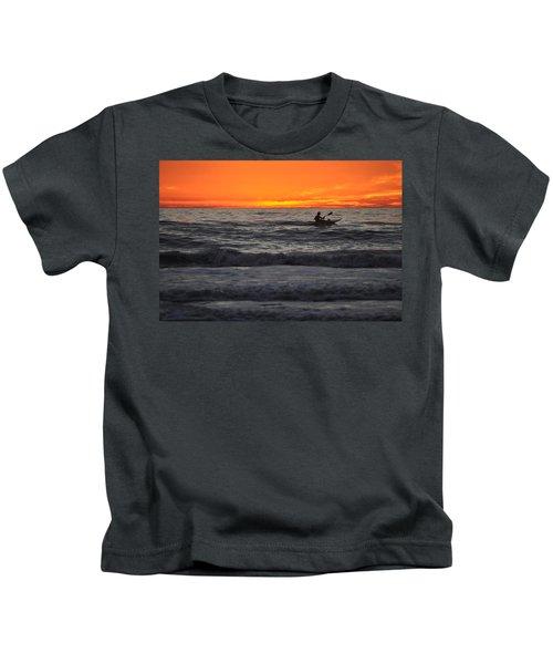Solitude But Not Alone Kids T-Shirt