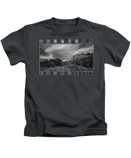 Sonoran Afternoon Bw42 Kids T-Shirt