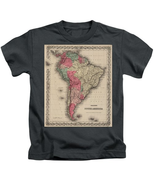 South America Kids T-Shirt