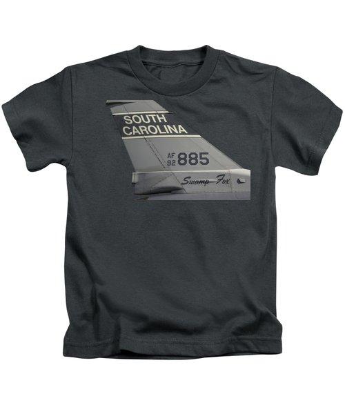 South Carolina Swamp Fox  Kids T-Shirt