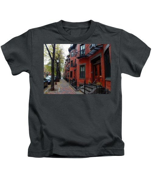 South End - Boston Kids T-Shirt