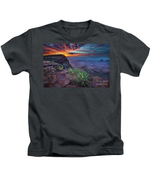 South Rim Sunrise Kids T-Shirt