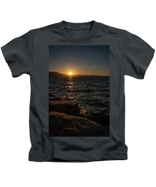South Shore Sunset Kids T-Shirt