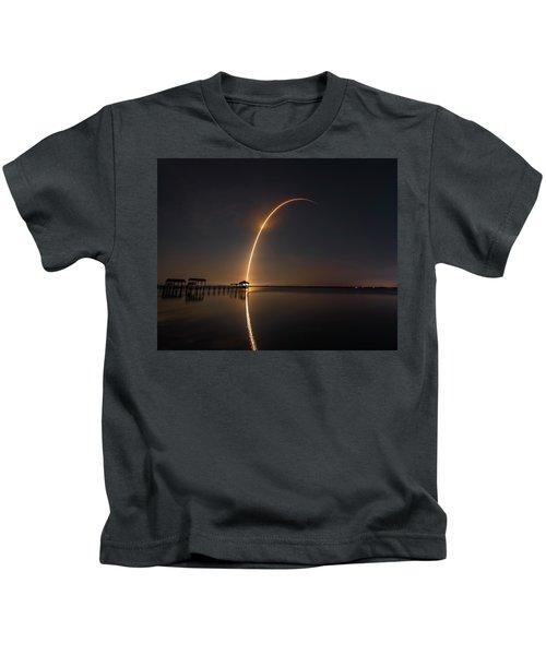 Spacex Falcon 9 Kids T-Shirt