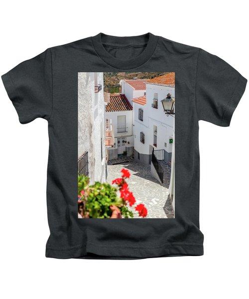 Spanish Street 3 Kids T-Shirt