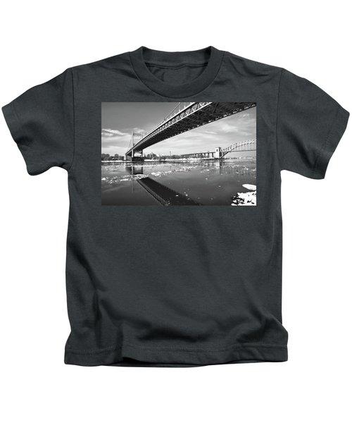 Spanning Bridges Kids T-Shirt