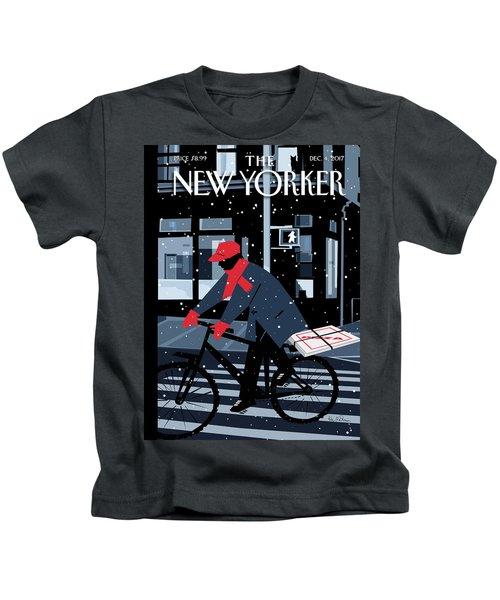 08258e8ddfcbf Pizza Delivery Kids T-Shirts | Fine Art America