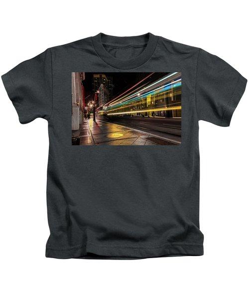 Speed Of Light Kids T-Shirt
