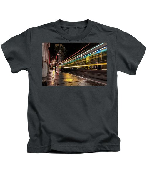 Speed Of Light Kids T-Shirt