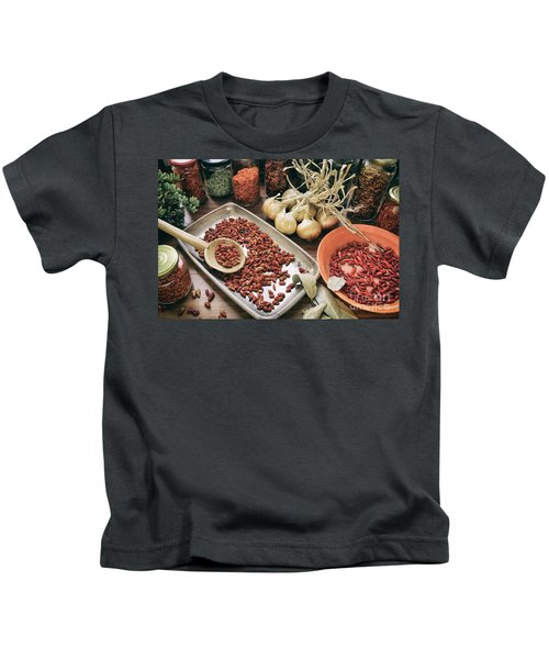 Spices And Herbs Kids T-Shirt
