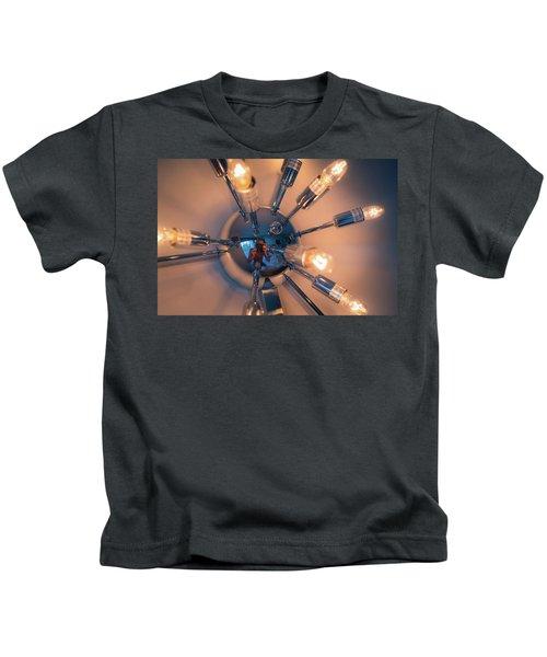 Spider Light Reflected Portrait Kids T-Shirt