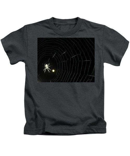 Spider Moon Kids T-Shirt