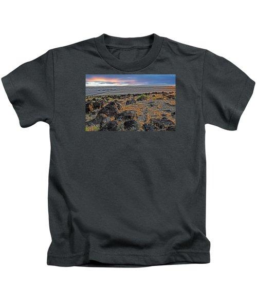 Spiral Jetty Kids T-Shirt