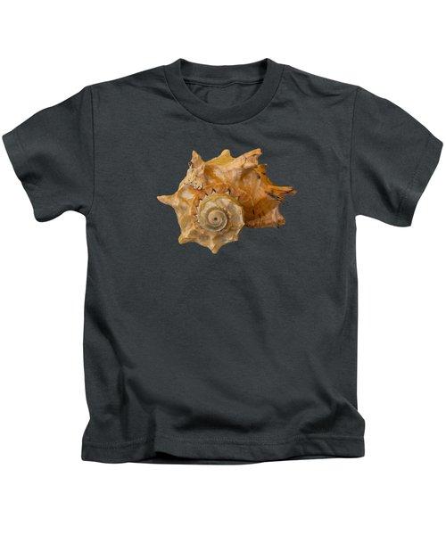 Spiral Shell Transparency Kids T-Shirt