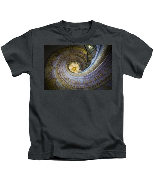 Spiral Staircase Melk Abbey I Kids T-Shirt
