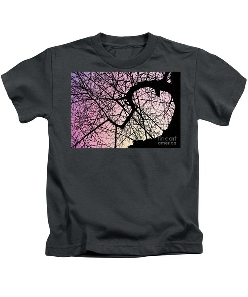 Spiral Tree Kids T-Shirt