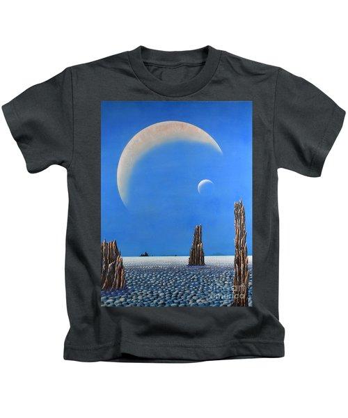 Spires Of Triton Kids T-Shirt