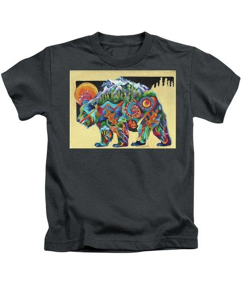 Spirit Bear Totem Kids T-Shirt