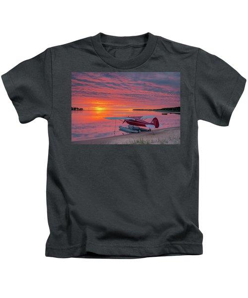 Splash-in Sunrise Kids T-Shirt