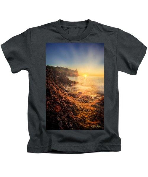 Split Rock Glory Kids T-Shirt