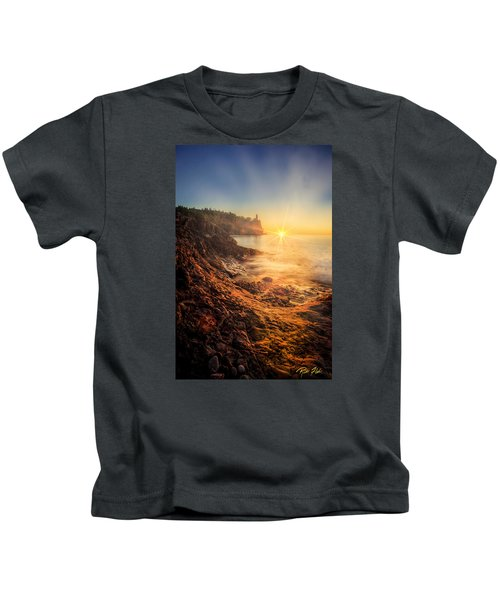 Split Rock Glory Kids T-Shirt