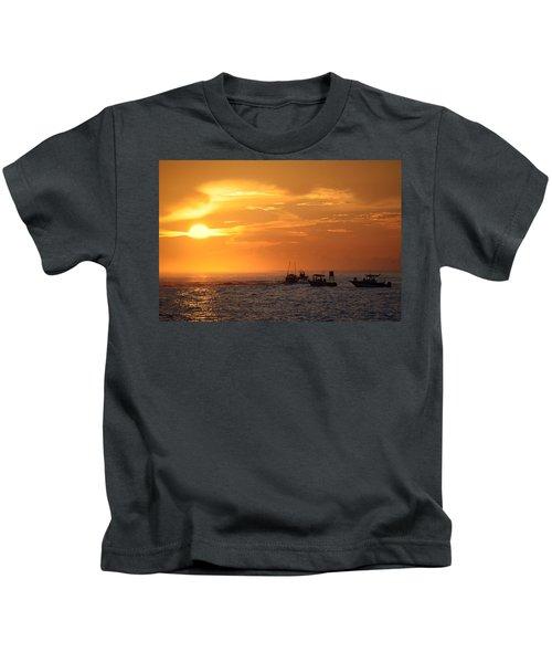 Sportfishermen Head Offshore Kids T-Shirt