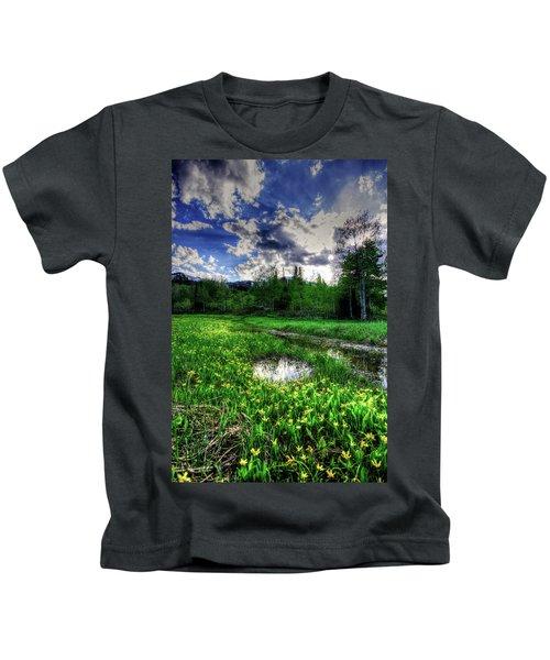 Spring Flowers Kids T-Shirt
