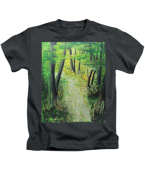Spring Path Kids T-Shirt