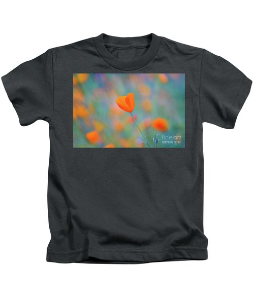 Spring Poppy Kids T-Shirt