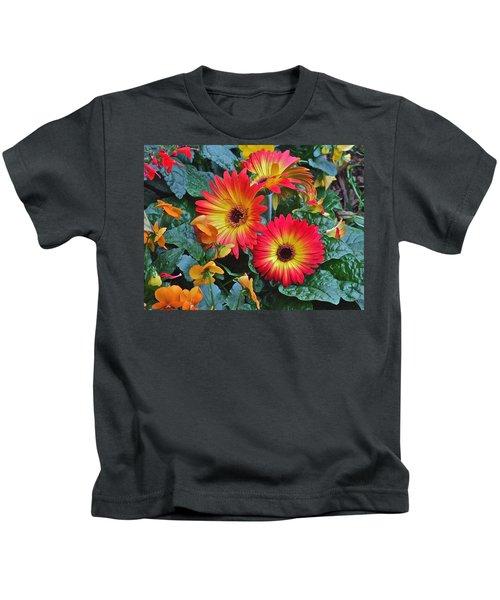Spring Show 14 Gerbera Daisy 1 Kids T-Shirt