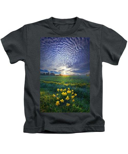 Springing To Life Kids T-Shirt