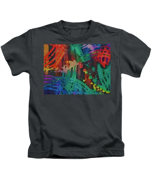 Squares And Other Shapes 2 Kids T-Shirt