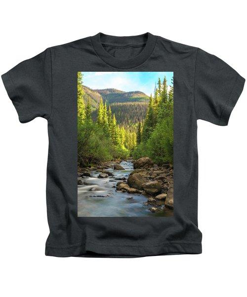 Squaw Creek, Colorado #2 Kids T-Shirt