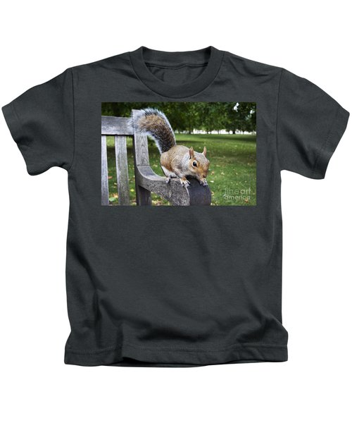 Squirrel Bench Kids T-Shirt