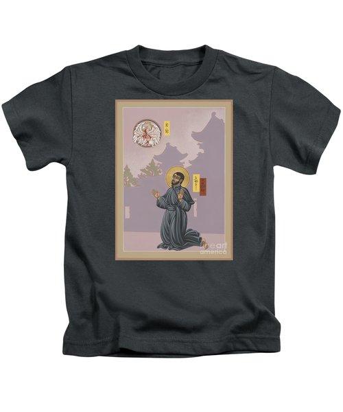 St Francis Xavier Adoring Jesus The Mother Pelican 164 Kids T-Shirt