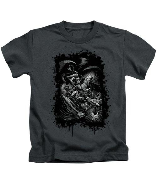St. George And Dragon T-shirt Kids T-Shirt