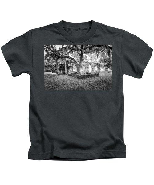 St. Helena Tabby Church Kids T-Shirt
